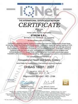 Stirom Ltd - Professional Maintenance, Testing and Certification of Extinguishers