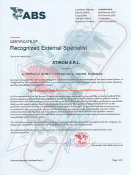Stirom Ltd - Professional Maintenance, Testing and Certification of Extinguishers